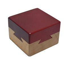 Secret Puzzle Box Brain Teaser Games Wooden Magic Drawers Hidden Diamond Jewelry Cash Gift Magic Box