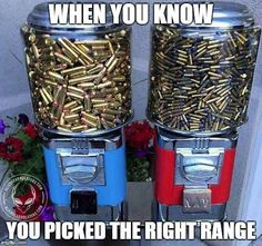 Nothing beat a good day at the range for some good ol' shooting practice.