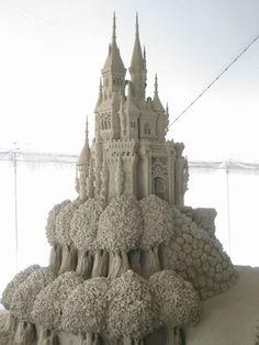 Castle made of sand. #aaa #sandcastle www.aaa.com/travel  trekearth.com