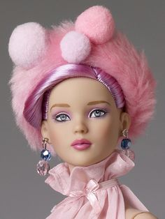 I love the hair color but I am not a fan of the hat.....Cotton Candy | Tonner Doll Company