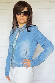Kurtka Jeans http://modana.com.pl/