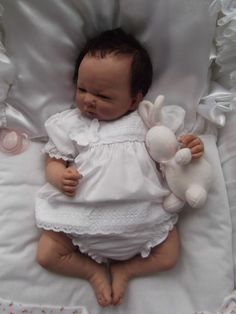 "Beautiful Reborn baby girl **Jasmine ** 18"" full limbs 
