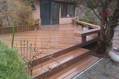 deck benches | Sustainable building materials | Central CT Decks and Porches