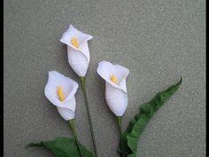 Cómo hacer la flor de papel de Rose del papel del Crepe - Tutorial del arte - YouTube