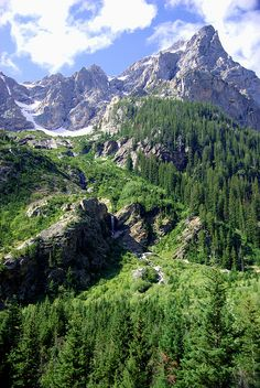 Cascade Canyon - Grand Teton National Park