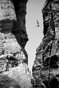 The Azores, Portugal  Todor Spasov dives off the cliffs in the Azores, during the Red Bull Cliff Diving World Series.