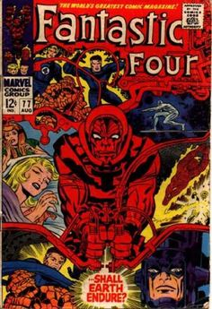 Fantastic Four 77 Jack the King Kirby silver age Marvel comics group