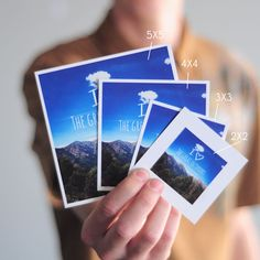 Persnickety Prints - Instragram photos made into polaroids, posters, and books