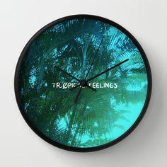 Tropical Feelings - Fluor colors Wall Clock on Society6 #deco #tropical #caribbean #caribe #palm #trees #palmeras #foto #photo #wallclock #clock #reloj #pared #diseño #design #fluor #neon #colors #bright #brilliant #amazing #nice #type #typography #homedeco #blue #green #white #light #azul #verde #blanco @Society6