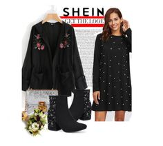 """""""SHEIN - Fashion"""" by saaraa-21 ❤ liked on Polyvore featuring Sheinside, shop, polyvorefashion and shein"""