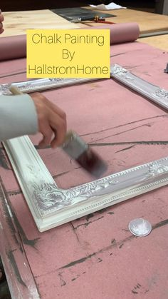 Learn more about how you can chalk paint like a pro with our easy painting guide. Check it out and then let me know if you have any questions. Im here to help. You can also shop our custom mirrors if your looking for a beautiful bathroom/ vanity mirror