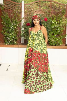 Luna Summer Maxi Dress Ankara Maxi Dress, African Maxi Dresses, Maxi Skirts, Summer Maxi, Summer Dresses, Latest African Styles, Wedding Dress With Pockets, Dress Pockets, Dress Clothes For Women