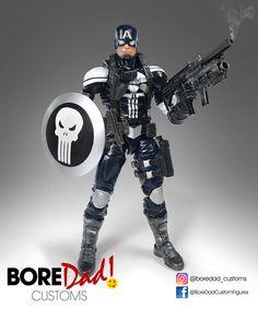 Ultimate Avengers Punisher - Custom action figure
