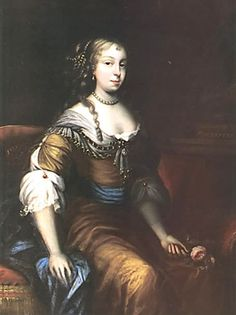 1667 Countess Elizabeth Wilmot, née Malet (also known as Elizabeth Mallet), portrait by Sir Peter Lely