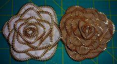 Zipper Rose Tutorial