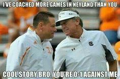 Is TN Vs USC a great rivalry in the SEC East? I think so.