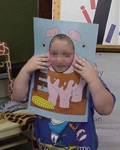 farm unit--make animal frames, pose child, give child clues about the animal!