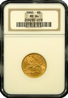 $5 Liberty Gold Coin NGC/PCGS MS-64