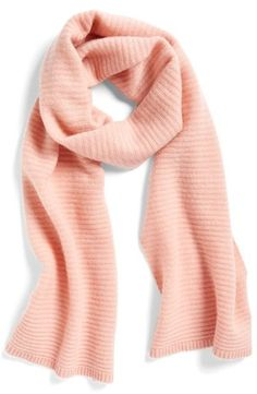 Please click on the picture to go to the detail page. Women's Halogen Ribbed Cashmere Muffler