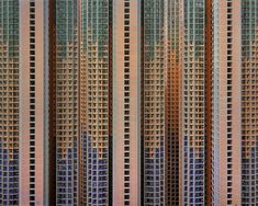 """Architecture of Density  Photographer Michael Wolf , double winner of the World Press Photo offers us this series """"Architecture of Density"""". Unretouched pictures of Hong Kong, its 7 million inhabitants and its concrete towers, show an impressive and oppressive world."""