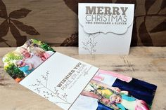 millers folded luxe cards