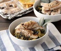 Chicken & Sage Pasta Recipe   Paleo inspired, real food