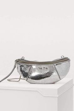 a2f530650d652 Buy Miu Miu Sequin belt bag online on 24 Sèvres. Shop the latest trends -  Express delivery   free returns