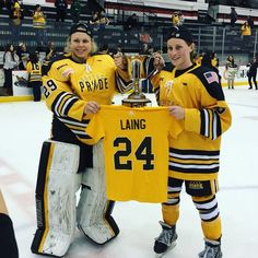 Major congratulations to the Boston Pride on their historic win over the Buffalo Beauts last night! The Pride are the inaugural champions of the NWHL and swept the playoffs. The game was led by co...