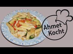 Pasta mit Hähnchen - AhmetKocht - Folge 198 - YouTube
