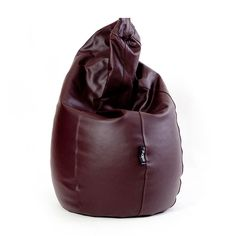 Puf Pera Super M Polipiel Chocolate