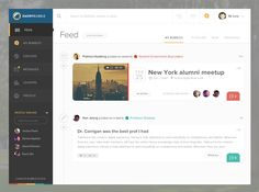 Feed page for Emory Bubble designed by Giovanni Hobbins. Connect with them on Dribbble; the global community for designers and creative professionals. Dashboard Interface, Web Dashboard, Dashboard Design, Ux Design, Flat Design, Design Patterns, Tabs Ui, App Design Inspiration, Design Ideas