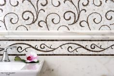 Stunning Stone Mosaics from Studio V188 transitional