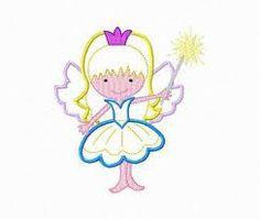 machine applique fairy - Google Search