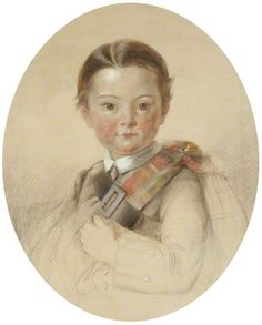 Portrait of a Boy in Highland Dress by John Lamont Brodie