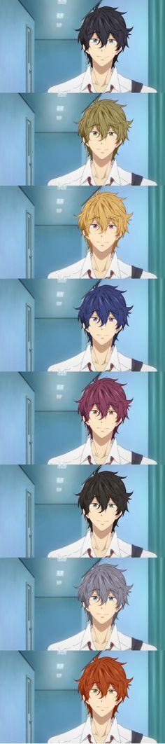 Hair Color Swap Kisumi | Bet Kisumi will look good in anything | Free!