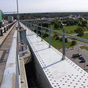 Rigid Rail Bridge Fall Protection
