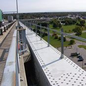 Rigid Rail Bridge Fall Protection
