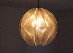 eckenlampe aus Plexiglas