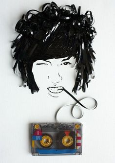 Brillant Examples of Recycled Art, but who made it?  Why do't people credit artists!?!?! #ecoart #recycle                                                                                                                                                                                 More