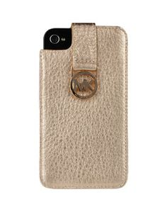Michael Kors *gold* iPhone case