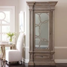 Love this mirrored armoire by Habersham Furniture & Fascinating mirror cabinet doors made to measure to Apply For ...
