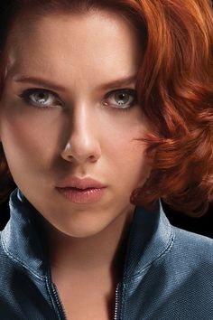 Scarlett Johansson as Black Widow-Avengers Black Widow Avengers, Avengers Age, Black Widow Scarlett, Black Widow Natasha, Scarlett Johansson Movies, Natasha Romanoff, Redheads, Hollywood, Girls