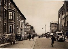 Rigby Road, Blackpool, date unknown. Old Pictures, Old Photos, Blackpool Uk, Preston Lancashire, St Anne, Local History, Places Of Interest, North West, Great Places