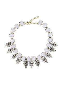 76965daf53f27c Slate   Willow Accessories Slate Frost Necklace Rent The Runway