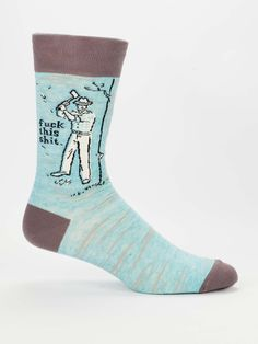Made by Blue Q, irreverent, humorous, and bad-ass high quality goods that give back. Every Blue Q sock sold supports Doctors Without Borders. Visit Market Earth in Downtown Fort Myers to see a large collection of Blue Q merchandise. Blue Q Socks, Black Socks, Street Style Trends, Street Styles, Funny Socks, Silly Socks, Crazy Socks, Novelty Socks, Dress Socks