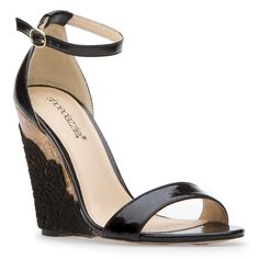 Leina: This darling wedge plays it coy with ladylike style and an impeccably glossy sheen.