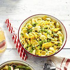 Summer corn-pasta salad recipe - Chatelaine.com