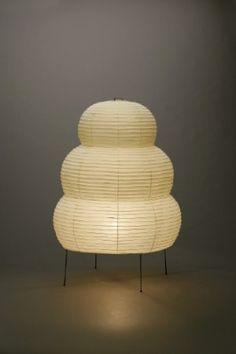 Akari Light Sculpture, STAND Series (floor & table), Model No. 24N & 25N, Ozeki Lantern Co. Isamu Noguchi.