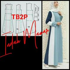 Abaya Pattern, Kurti Patterns, Coat Patterns, Dress Sewing Patterns, Dress Muslim Modern, Muslim Dress, Lehnga Dress, Hijab Dress, Designs For Dresses