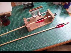 Ok Tüyleme Makinesi - Arrow Fletching Jig #fletchingjig #arrow #archery #oktüylememakinesi Arrow Fletching, Archery, Bow Arrows, Field Archery, Traditional Archery